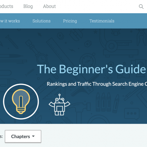 moz beginners guide to seo
