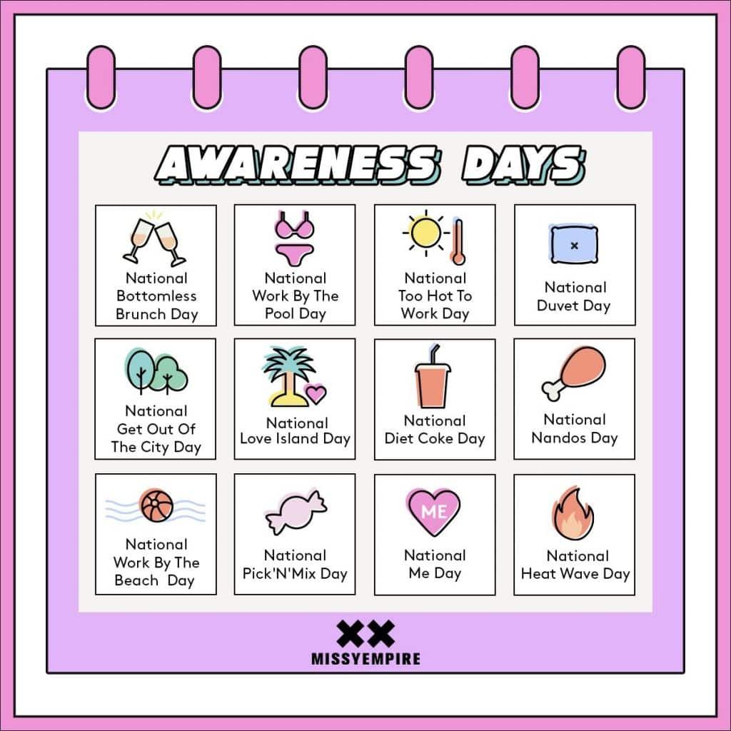 national awareness days