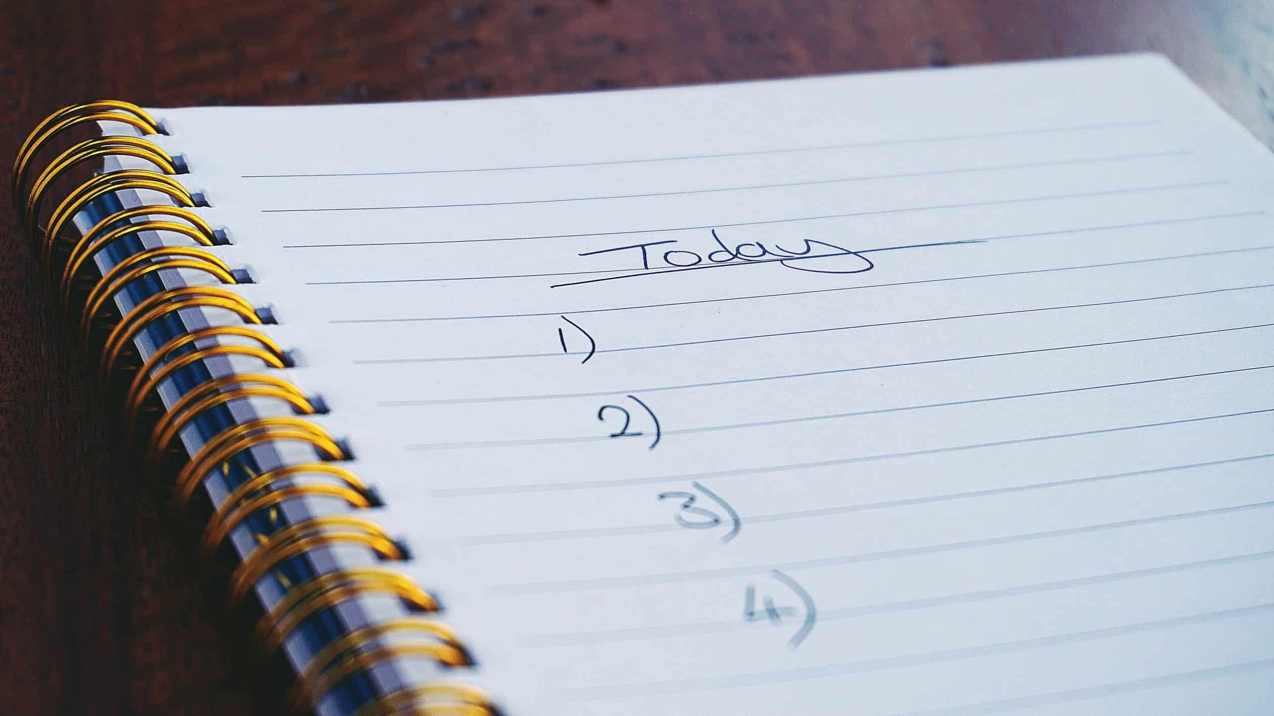 procrastinating to do list