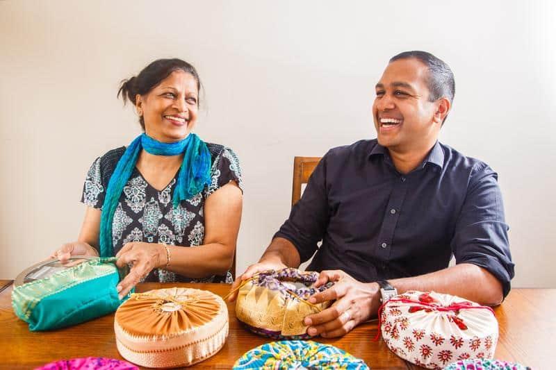 Sanjay and Shashi Aggarwal Spice Kitchen UK