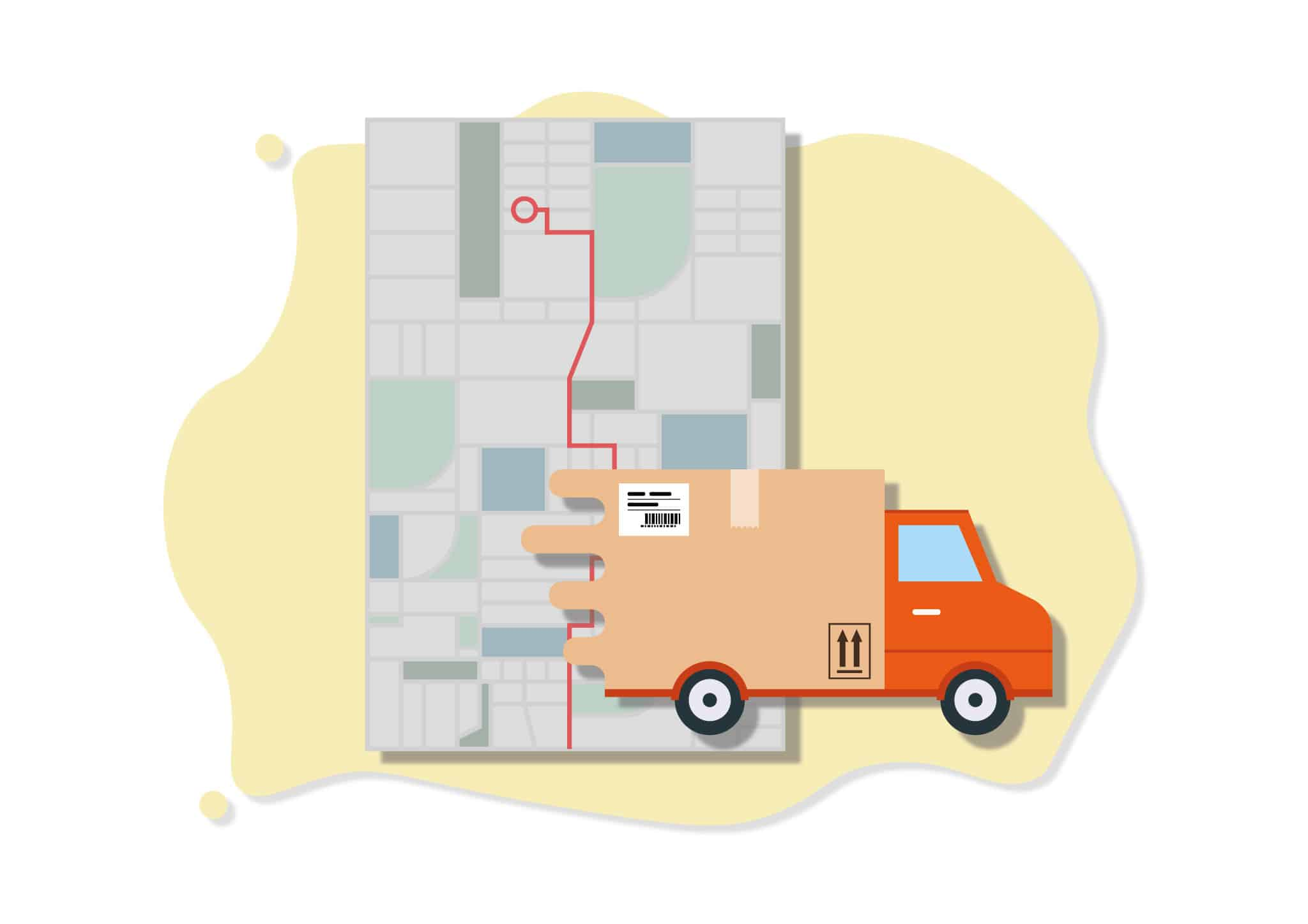 choose delivery options ecommerce website